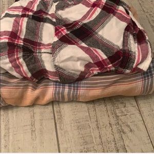Maurices Tops - plaid shirt size small